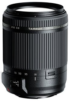 Tamron AF 18-200 mm XR Di II - Objetivo para Cámara Sony (18-200mm, f/3.5-6.3, 62 mm), Color Negro