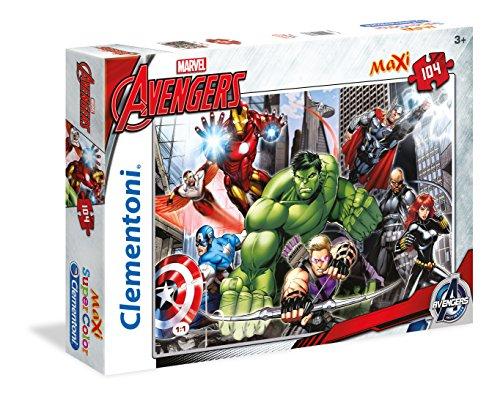 Clementoni 23688 - Avengers Maxi Puzzle, 104 Pezzi