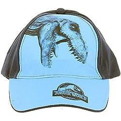 Jurassic World - Gorro - para niño Azul 54 cm