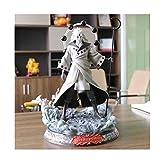 LLKOZZ Naruto Anime Statue UchihaMadara Jouet Modèle PVC Exquis Anime Décoration Artisanat Collection -15.7in Jouet