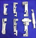 Yeqin (TM) Serger overlock 6piedini set per Singer 14CG75414SH65414SH75414HD85414U55514U557+ infila ago