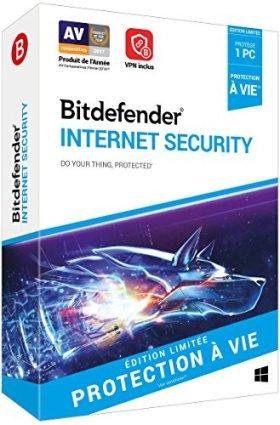 Bitdefender Internet Security - Edition Limitée|2018|1 appareil|5 An|PC|Téléchargement