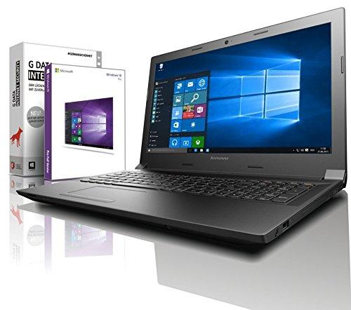 Lenovo (15,6 Zoll) Notebook (Intel N4000 Dual Core 2x2.60 GHz, 8GB RAM, 1000GB HDD, Intel HD 505, HDMI, Webcam, Bluetooth, USB 3.0, WLAN, MS Office Paket, Windows 10 Prof. 64 Bit) #6127
