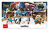 Amiibo 'Collection The Legend of Zelda' - Daruk + Mipha + Revali + Urbosa (Prodiges de The Legend of Zelda: Breath of the Wild)