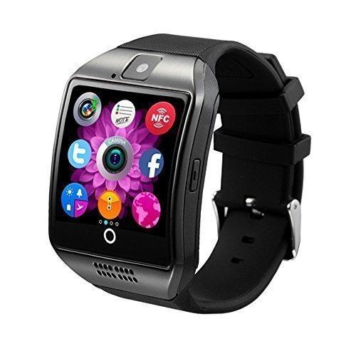 San - Montre téléphone connectée débloqué Bluetooth 3.0 - Ecran tactile IPS HD - Smartwatch Sport avec support carte Sim - Compatible android et apple