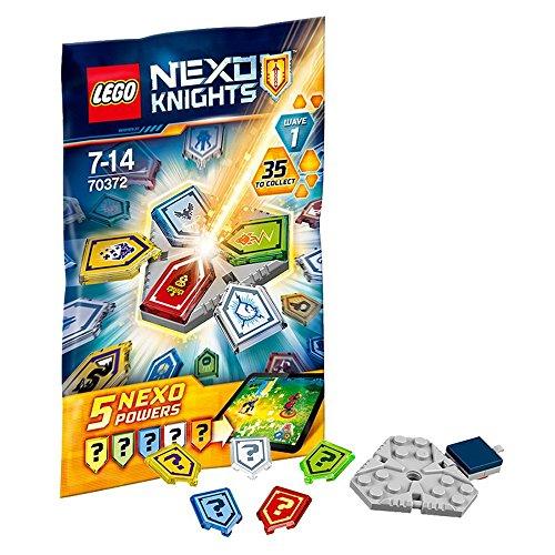 LEGO NEXO KNIGHTS Pack de poderes NEXO, edición 1 - bloques de construcción para niños (edición 1, Multicolor, 5 pieza(s), 7 año(s), 14 año(s))