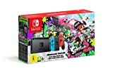 Console Nintendo Switch avec Joy-Con - rouge néon/bleu néon + Splatoon 2