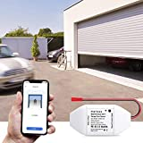 Meross Smart Garage Door Opener Kit Remote Control Existing Garage Opener by Smartphone Compatible with Amazon Alexa Google Home IFTTT
