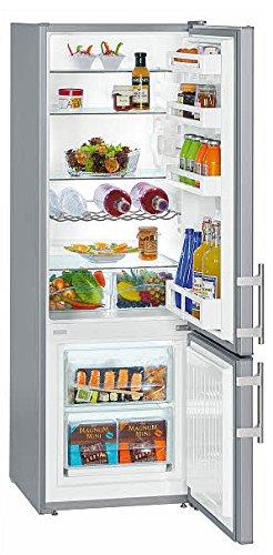 Liebherr CUsl 2811 Libera installazione 263L A++ Grigio frigorifero con congelatore