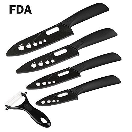 couteaux en c ramique ballery set 5 couteaux de cuisine c ramique 6 couteau chef 5. Black Bedroom Furniture Sets. Home Design Ideas