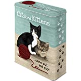 Nostalgic-Art 30301 Animal Club - Cats and Kittens, Vorratsdose XL
