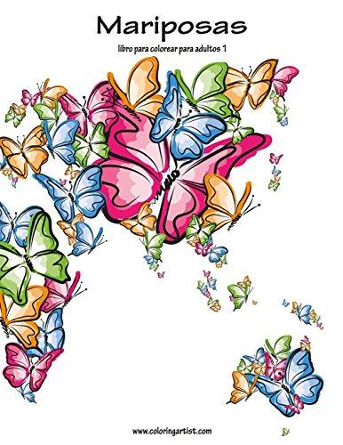 Mariposas libro para colorear para adultos 1: Volume 1