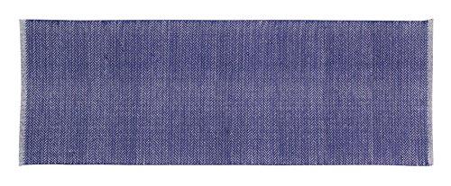 Home Basics hm1p Tappeto per El Hogar, Cotone, Blu Navy, 70x 200cm