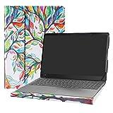 """Alapmk Diseñado Especialmente La Funda Protectora de Cuero de PU para 15.6"""" Lenovo ideapad 330s 15 330s-15IKB / ideapad 530s / ideapad S540 / ideapad S340 Laptop(Not fit ideapad 330/520),Love Tree"""