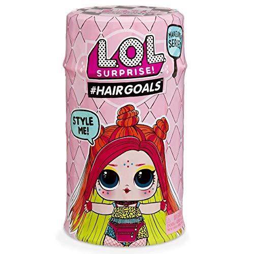 Giochi Preziosi LOL Surprise Hairgoals S2, LOL con Capelli Pettinabili, 15 Livelli, Modelli Assortiti [Versione Italiana]