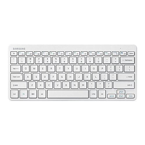 Samsung EJ-BT230MWEGDE Tastatur Bluetooth in weiß für Samsung Galaxy Geräte