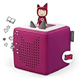 Tonies Starterset: Toniebox Purple + 1 Creative Tonie - Story-Player and Music-Player for Kids - Best Toy For Boys and Girls Age 3-7
