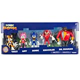 Sonic The Hedgehog  Action Figure Multi Pack  Sonic Boom 5 Figure Set  Suitable From 4 Years