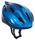 Trespass Kids' Cranky Cycle Safety Helmet - Dark Blue, 48-52 cm