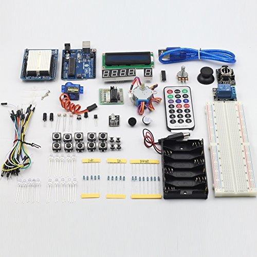 51Y0krcRGEL - SunFounder Starter Learning Kit para Arduino Principiante