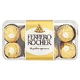 Ferrero Rocher 16-Piece Assortment (Pack of 5, Total 80 Pieces)