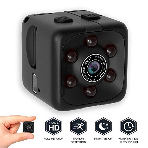 Spy Hidden Camera 1080P Portable Cube Camera Mini Security Camera Night Vision Motion Detection Camera (stile 02)
