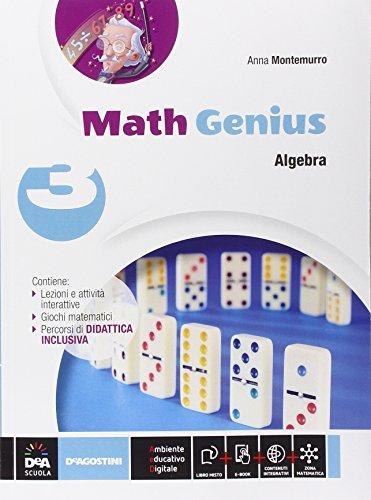 Math genius. Aritmetica-Geometria-Palestra delle competenze. Per la Scuola media. Con e-book. Con...
