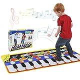 RenFox Alfombra de Piano, Alfombra Musical de Teclado,...