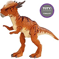 Jurassic World Battle Damage Stygimoloch Stiggy, Dinosaurio de Juguete Mattel FNB32