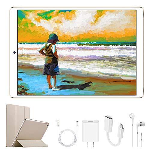 4G Tablet 10.1 Pollici con Wifi Offerte DUODUOGO Tablet PC Offerte Android 7.0 con Slot per Scheda...