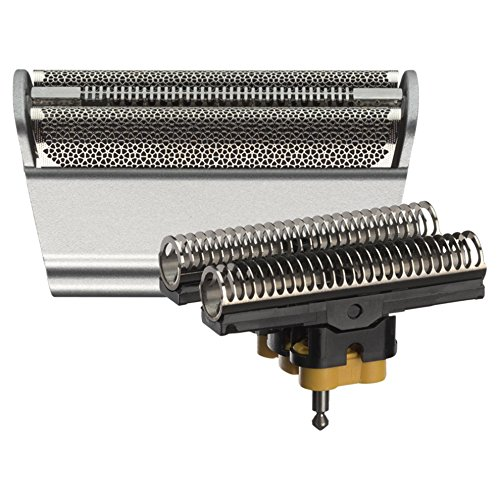 Braun 31S - Recambio para afeitadora eléctrica, compatible con afeitadoras Series 3, color plata