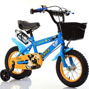 KY Bicicleta Infantil 12 Pulgadas, 14 Pulgadas, 16inch, 18inch De Bicicletas Cochecito De Juguete For Niños De Cuatro Bicicletas De Ruedas 3-8 Años De Edad
