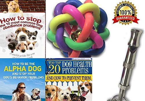 Sale Now On Our Dog Whistle Premium Training Dog Whistle with Adjustable Frequencies - Bonus Lanyard Three E-Books & Free Dog Rainbow Ball + Money Back Guaranteed