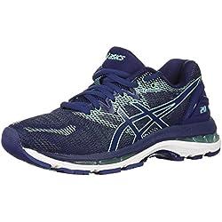 ASICSMens Fitness/Cross-Training - Chaussures de Sport/d'entraînement pour Hommes Femme, Bleu (Indigo Blue/Indigo Blue/Opal Green), 35 2A EU