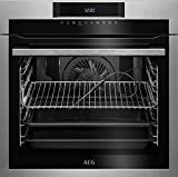 AEG bpe642120m Electric Oven 71L A + Edelstahl-Herd (Medium, Electric Oven, 71L, 71L, 2900W, 3Glasböden)
