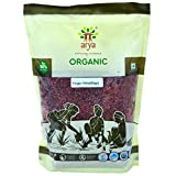 Arya Farm Certified Organic Without Chemicals Pesticides Finger Millet ( Sabut Nachni ), 2kgs ( Whole Ragi Seeds / Siridhanya )
