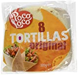 Poco Loco Tortilla Flour Wraps, 8 x 20 cm, 320 g