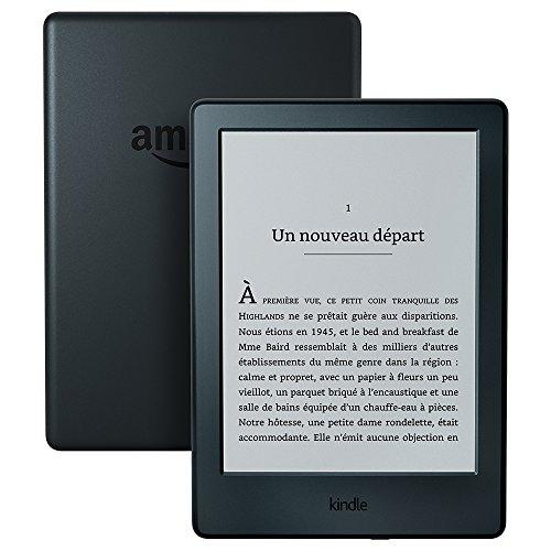 Liseuse Kindle, écran tactile 6' (15,2 cm) antireflet, Wi-Fi (Noir) - Avec...