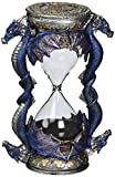 Design Toscano Death\s Door Dragon Gothic Decor Statue Hourglass Sand Timer, 15 cm, Polyresin, Full Color
