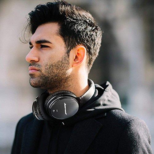Casque Bluetooth Sans Fil Antibruit - Hiearcool Headphones Wireless Reduction de Bruit Universel Portable,Stéréo Qualité HIFI, pour tous les... 10