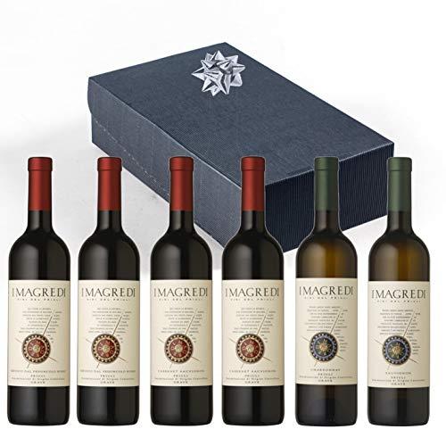 Friuli CONFEZIONE AMETISTA con 6 bottiglie I Magredi