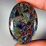 39.10CTS 100% Chatoyant naturale Golden Pietersite cabochon gemma sciolto