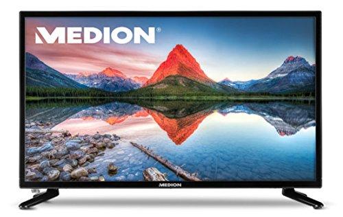 MEDION LIFE P12304 59,9 cm (23,6 Zoll) Full HD LED Backlight Fernseher mit integriertem DVD Player, 16:9 LED TV mit HD Triple Tuner DVB-T2 HD, DVB-C, DVB-S2, CI+ Slot und USB Anschluss mit internem Mediaplayer, Farbe: schwarz