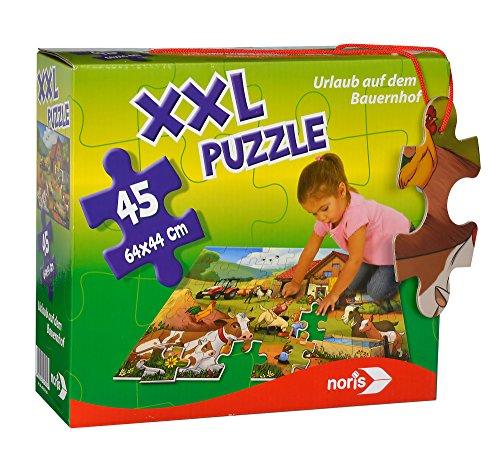 Noris-Spiele 606031565–XXL Puzzle vacanza sul Fattoria