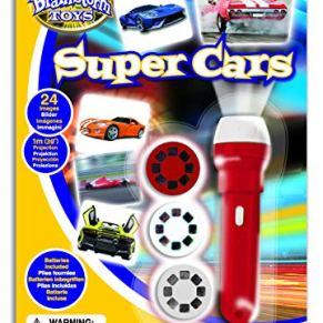 Brainstorm Toys- Super Cars antorcha y proyector, Multicolor, Talla única (E2047)