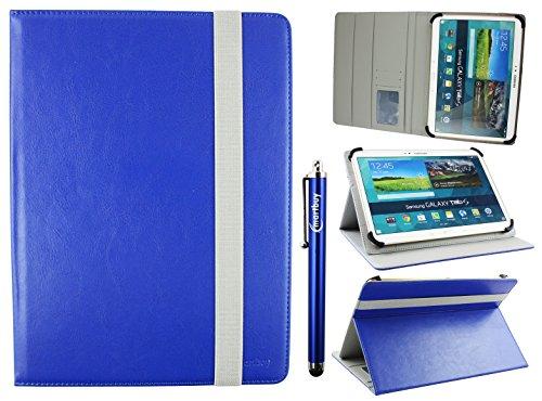 Emartbuy Universal 9-10 Pollici Royal Blu Angolo Multi Portafoglio Custodia Case Cover per Carte di...