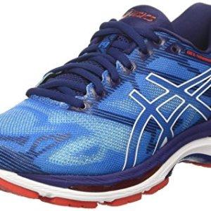 Asics-Gel-Nimbus-19-Zapatillas-de-Running-Hombre-Azul-Diva-BlueWhiteIndigo-Blue-435-EU