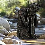 relaxdays buddha beispiel im garten