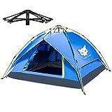 Night Cat Campingzelt 2 3 4 Person Sofortige Pop Up Automatische Dome Urlaub Einfache Einrichtungszelt für Outdoor Wandern Doppelschicht