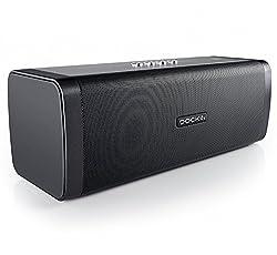 Kaufen DOCKIN D Fine 50 Watt Stereo Hi-Fi Bluetooth Speaker - Lautsprecher mit Exzellentem Sound, starkem Akku für 10 Stunden Musikwiedergabe & PowerBank, Staub- und Wassergeschützt